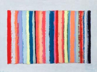 Striped Beach Towel 36x48 SOLD