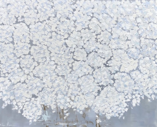 Blooming Hydrangea 48x60